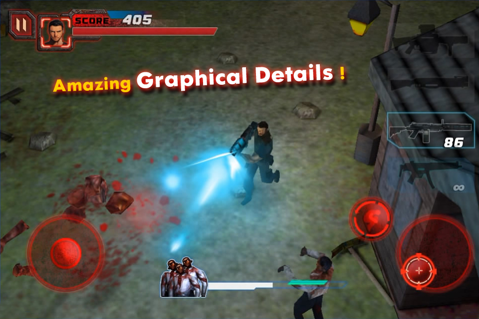 Screenshot Zombie Crisis 3D 2: HUNTER FREE