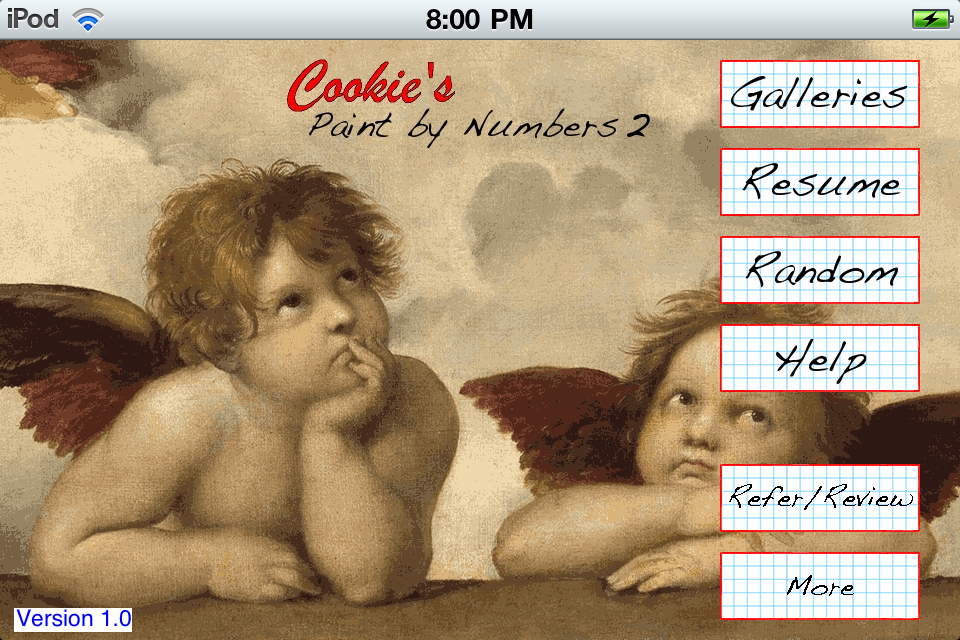 Screenshot Paint by Numbers 2 Free
