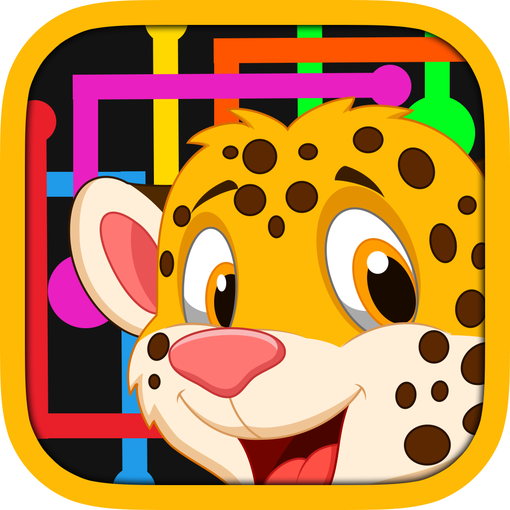 Animal Family Flow Line Zoo Saga - Match Faces and Colors & Set Pets Free